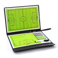 Foldable Football Coaching Board Coach Football Board Professional Training Tactical Football Ball Dry Erase Magnet Button