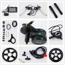 Bafang BBS02 48V 750W Ebike Motor with C961 LCD 8FUN mid drive Electric Bike conversion kits