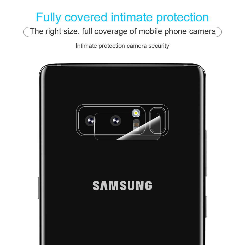 Phone Camera Len Film For Samsung Galaxy Note 8 S8 S8 Plus S7 Edge Tempered Glass 2.5D Screen protector Camera protection film (5)