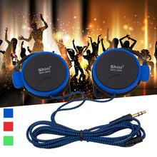 3.5mm AUX Wired Earphone Hansfree Headset Clip On Ear Headphones EarHook Earphone For Mp3 Player Mobile Phones