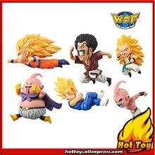 "Original Banpresto World Collectable Figure / WCF The Historical Characters Vol.3 - Full Set of 6 Pieces from ""Dragon Ball Z"""