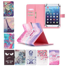 Cute Print Leather Universal Cover for Ainol Novo10/Novo 10 Captain/Numy/Ax10T 10.1 inch  Case Flip Wallet Tablet Bag +3 Gifts