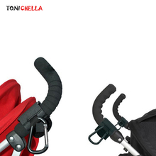 Baby Stroller Accessories Hooks Black Pram Shopping Bag Hook Car Carriage Pushchair Bear 5Kg Durable And High Quality BB3039(China)