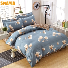 SMAVIA Modern Fashion Printing Bedding Sets 3/4 pcs Duvet Cover Sets for Home Hotel Quilt Cover Bed Sheets Pillowcase Queen King