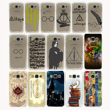 always Harry potter Hard Transparent Case Cover for Galaxy S3 S4 S2 S5 Mini S6 S7 S8 Edge Plus