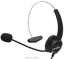 RJ9 Plug Office Headset with Mic ONLY for CISCO IP Phones 7940 7960 7970 7821 7841 7861 8851,8861 8941,8945,8961 9900 series etc(China)