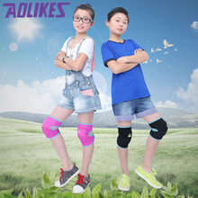 1 Pair New Kids Ski Sports Kneepads Baby Crawling Safety Children Dance Knee Support Football Basketball Volleyball Knee Pads(China)