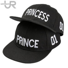 Hot Sale PRINCE PRICESS Embroidery Snapback Hat Acrylic Boys Girls Baseball Cap Children Gifts Kids Hip-hop Caps(China)