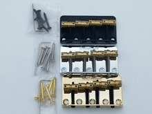 Original Wilkinson 4 Strings Electric Bass Bridge With Brass Saddles For Precision Jazz(China)