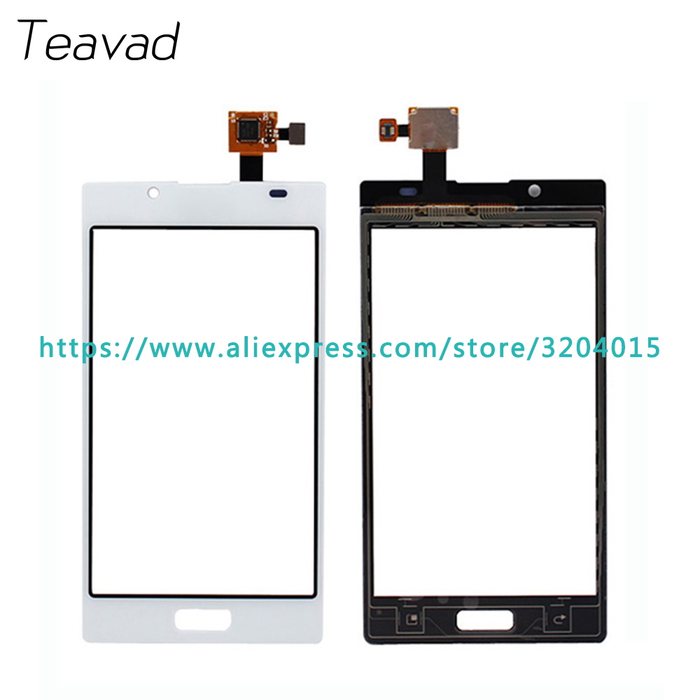 "Replacement parts 4.3"" LG Optimus L7 P700 P705 P708 Touch Screen Digitizer Sensor Outer Glass Lens Panel Black White"