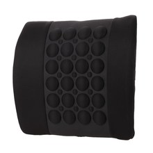 Car Cushion Knitted Fabric Massage Waist Cushion Automative Support Pad Back Mat Auto Seat Cover Head Neck Rest ME3L