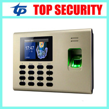 New arrival good quality TCP/IP fingerprint time and attendance system built in back up battery linux system Ssr K40(China)