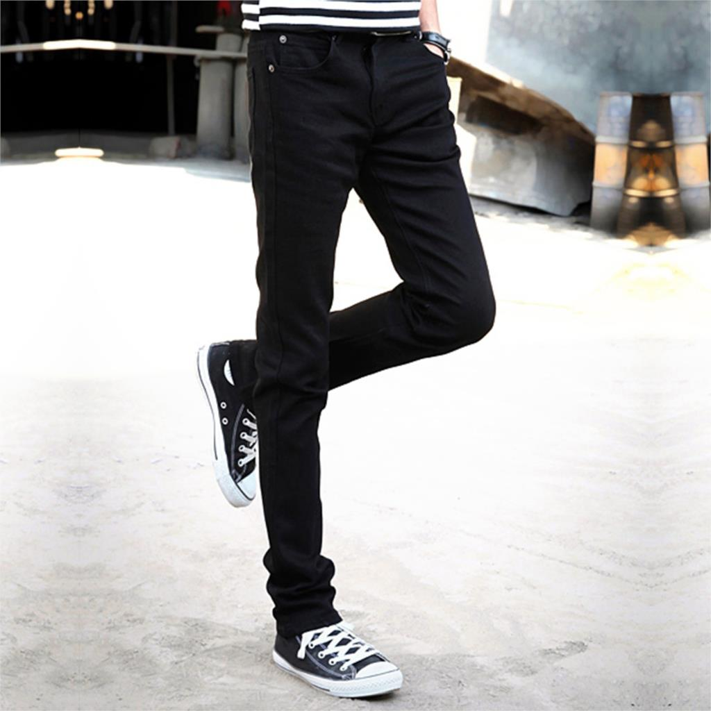 2016 New Mens Skinny Jeans Men 2016 Slim Elastic Jeans Denim Hiphop Pencil Pants Blue Washed Jeans Brand Clothing FriendshipОдежда и ак�е��уары<br><br><br>Aliexpress