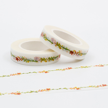 Mixed Color Japanese Washi Tape Set Tree Branch Patterns Decorative Adhesive Scotch Tape 1PCS/Lot Masking Paper Tapes