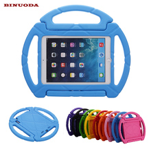 New Arrival Gift Children Kids Case for iPad Air 2 Steering Wheel Shockproof Foam EVA Cover Case for Funda iPad 6 iPad Air 2