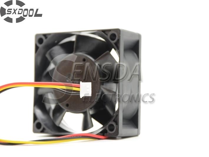 SXDOOL Free Shipping MMF-06D24DS RC4 60x60x25mm DC 24V 0.09A BKO-C2461H07 server inverter Cooling Fan<br>