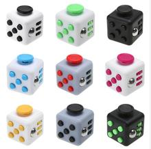 Fidget Cube Toy Vinyl Desk Finger Toys Squeeze Fun Stress Reliever 3.3cm High Quality Antistress Cubo