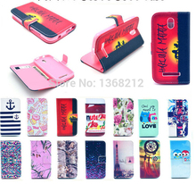 1PCS Owls Flowers Fashion Flip Wallet Stand Cover Cases For HTC Desire 500 506E Luxury PU Leather Cell Phone Cases With Magnetic