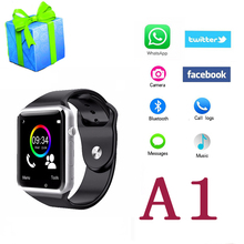 Smart Watch A1 for IOS Android Samsung Xiaomi Phone PK DZ09 GT08 U8 SmartWatch With Camera Bluetooth Pedometer Electronic Clock