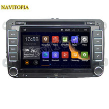 NaviTopia Octa Core/Quad Core 2G/1G Android 6.0/5.1 Car DVD for VW GOLF BLUE MOTION for VW SPORTLINE for AMAROK for BORA