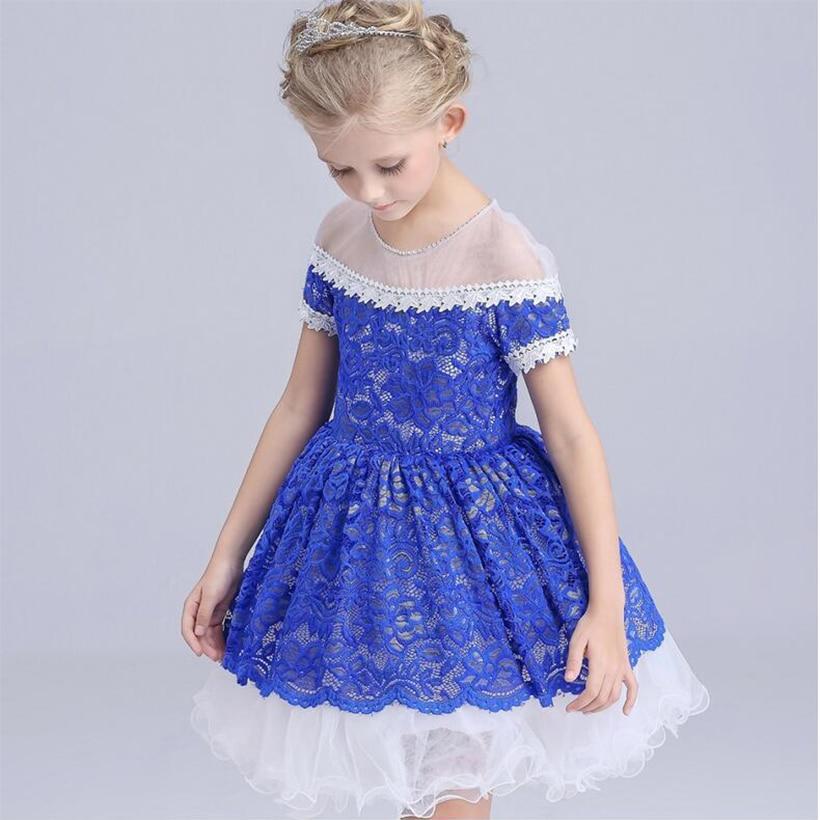 Brand summer dress girls clothes ball gown dresses lace princess girl party dress vestidos wedding girls dress vestido christmas<br><br>Aliexpress