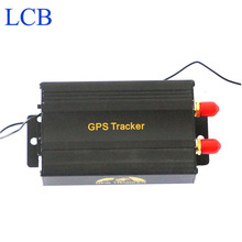 TK103B Vehicle GPS tracker Remote Control Portoguese Manual Quad band SD card GPS 103 PC&web-based GPS system free shipping