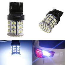 Buy 2pcs T20 Led Bulb W21W 7443 7440 64SMD 1206 Car Tail Stop Brake Light Turn Signal Reverse Backup Lamp White Lights for $2.29 in AliExpress store