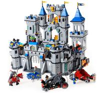 ENLIGHTEN 1393Pcs Medieval Lion Castle Knight Carriage Model Building Blocks Toys Educational Bricks Gift Of Children(China)