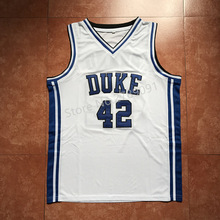 #42 Elton Brand Duke Blue Devils College Throwback Basketball Jersey Stitched any Number and name(China)