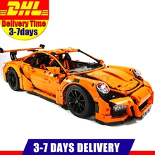 2017 New LEPIN 20001 2704Pcs Technic Series 911 Race Car Model Building Kits Blocks Bricks Toy Compatible With Gift 42056