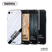 Remax Fashion design Phone Case For iPhone 7 7 plus Slim TPU Silicone Cover Case For iPhone 7 7plus Protective sleeve Cool style(China)