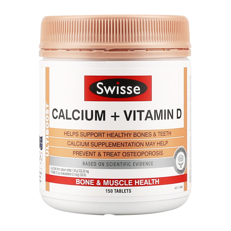 SWISSE CALCIUM+VITAMIN D 150 TABLETS<br><br>Aliexpress