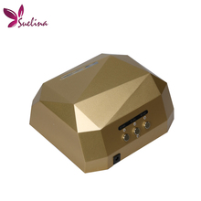 Nail Dryer&FREE SHIPPING 36W Gel Nail Machine CCFL UV LED Lamp For Drying Nail Dryer GEL Curing Polish Light 220-240V(China)