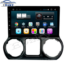 NaviTopia 10.1inch 1024*600 2GB RAM Quad Core/Octa Core Android 6.0 Car DVD Radio for JEEP Wrangler 2015 2016 with GPS/wifi/map(China)