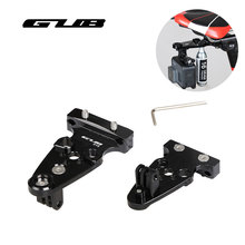 GUB 619 Bicycle Seat Post Camera Holder Ultralight Adapter CNC Aluminum Alloy MTB Road Bike Extra Adjustable Arm Tripods Black