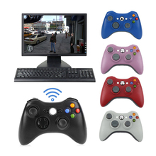 kebidu 2.4G Wireless Remote Joystick Controller For Xbox 360 Computer With PC Receiver Wireless Gamepad For Microsoft Windows XP