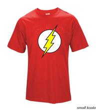 The BIG BANG Theory T-SHIRT the flash print women and men t shirts hot selling casual Tee shirt S~XXL cotton clothing dropship