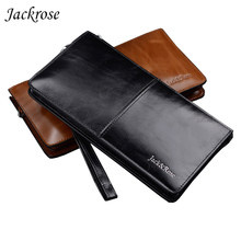 2017 Best selling New arrival High quality genuine leather business style men wallets black and brown fashion FGS187(China)