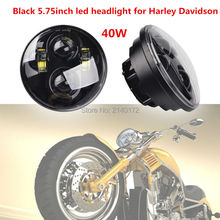 Motorcycle H4 High/Low beam Bicycle 5.75'' HID LED Headlight Front Driving head lights for harley motorcycle headlamp