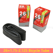 High Quality Durable Schrader Valve Bicycle Tires Replaceable Bike Cycle Inner Rubber Tube 26 inch 1.75 1.9 1.95 2.125 Butyl AV