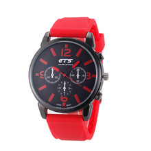 Buy Men watches Colorful Fashion Style Men's Casual Silicone Band Analog Quartz Sport Wrist Watch relogio masculino montre femme for $1.38 in AliExpress store