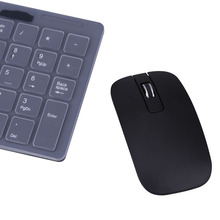 2.4G Optical Wireless Keyboard Mouse Combos USB Receiver Keypad Film Kit  For PC Computer Desktop Laptop Notebook