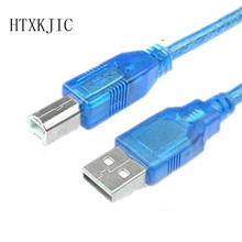 Extension Printer Cable 30CM USB 2.0 A male to B male Computer Wire Cable Cord Converter Connector Line for Computer PC Laptop