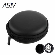1Pcs SD Hold Case Storage Carrying Hard Bag Box Case for Earphone Headphone Earbuds memory Card Caja de transporte auricular