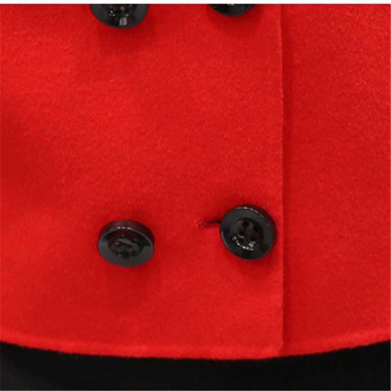 Spring Elegant Women Slim Coat Fur Color Short Sleeve High Quality Streetwear Red Yellow Coat 2018 16 Online shopping Bangladesh