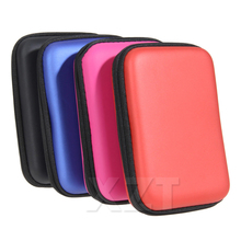 "Newest Hot 2.5"" External USB Hard Drive Disk Carry Mini Usb Cable Case Cover Earphone Bag for PC Laptop"