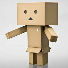 1 pcs Lovely New Japanese anime Danboard Danbo Doll Mini 2 Style 8cm PVC Action Figure Toy with LED light Kids Toys Gifts