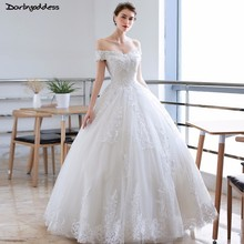 Vestidos De Novia 2018 Lace Vintage Wedding Dresses Short Sleeve Off  Shoulder Wedding Dress Ball Gown 4fa24fde9192