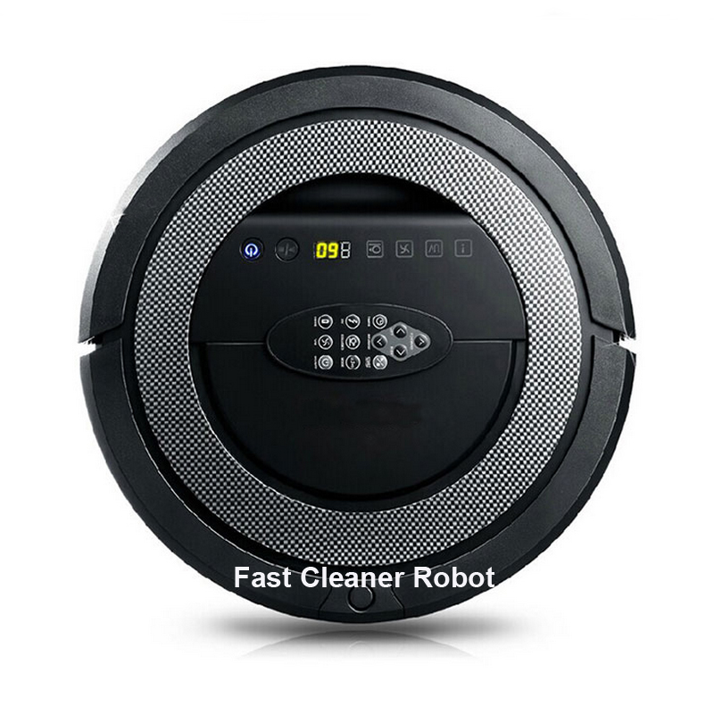 6 In 1 Multifunction Intelligent Automatic Robot Vacuum Cleaner With V-Shaped Rolling brush,UV sterilize,Schedule,Sonic wall(China)