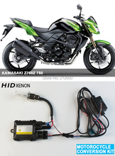 Free Shipping!! motorcycle moto hid xenon kit lights Headlight motorbike hid lights ballast lamp for KAWASAKI Z750Z 750(h7)